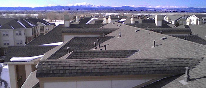 Asphalt Roofs - Photo